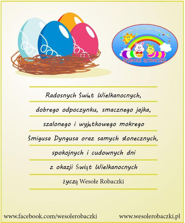 Radosnych Świąt Wielkanocnych…