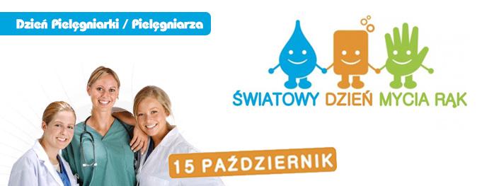 15.10.2015r. – obchodzimy Dzień Pielęgniarki/Pielęgniarza oraz Dzień Mycia Rąk!