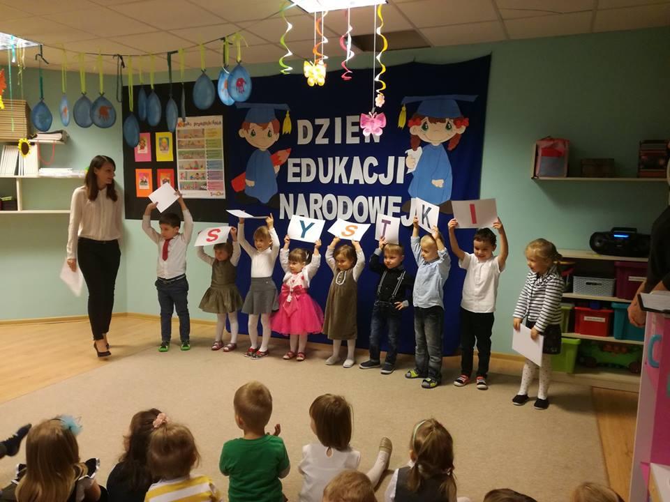 Dzień Edukacji Narodowej – przedszkole