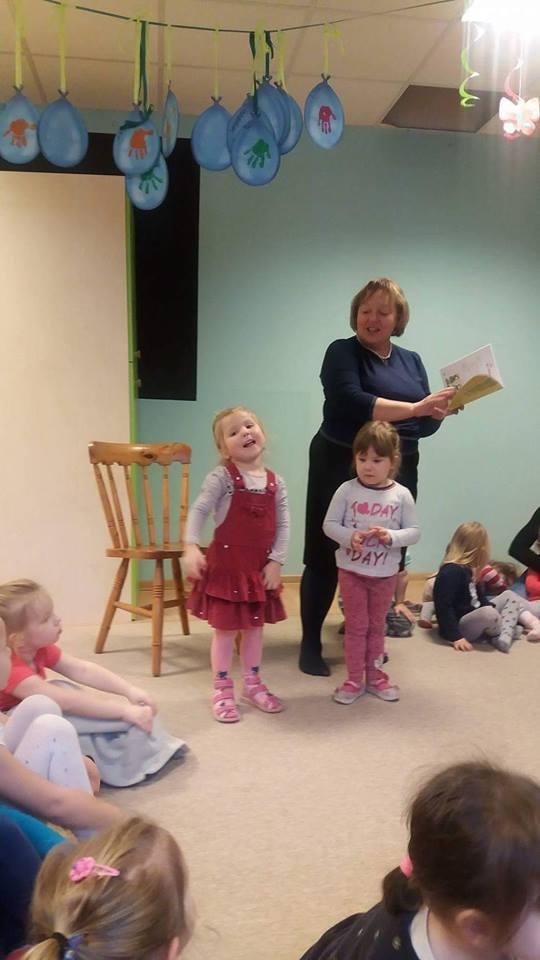 Wizyta Poetki w przedszkolu